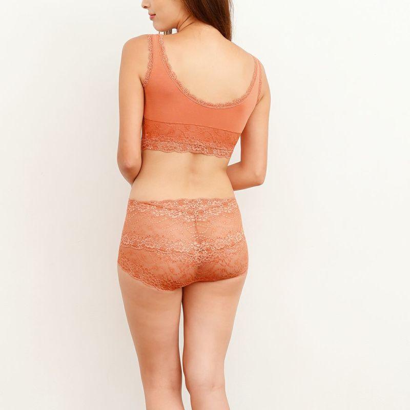 育乳ブラ・胸育ブラのグロウナイト・リボーン テラコッタの画像